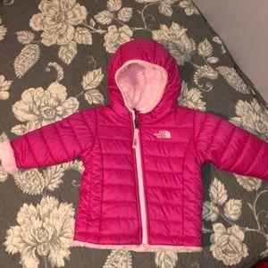 Infant North Face Reversible Winter Coat